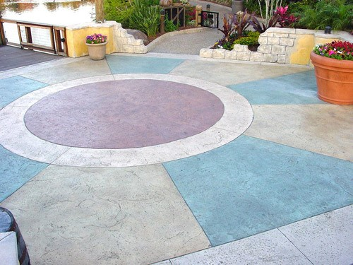 colored concrete