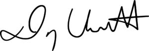 David Wescott's signature